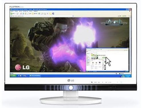 lg新品:游戏专用显示器w2363v曝光