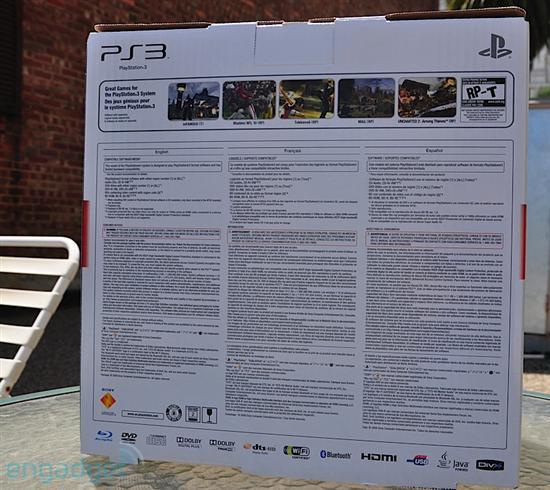 輕薄版PS3 Slim拆箱實物賞