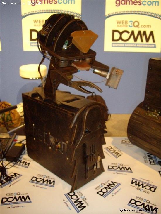 沙发变机箱:德国DCMM上最疯狂的MOD们
