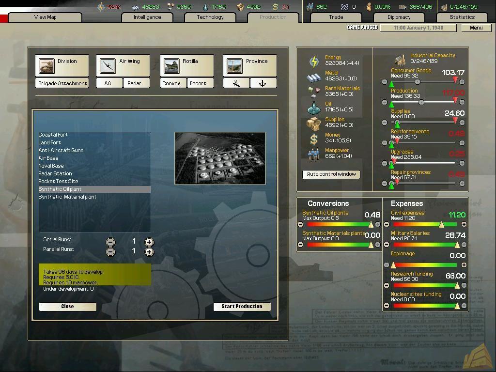 钢铁雄心2:民主国家兵工厂;   【游戏截图】; 《钢铁雄心:民主主义兵