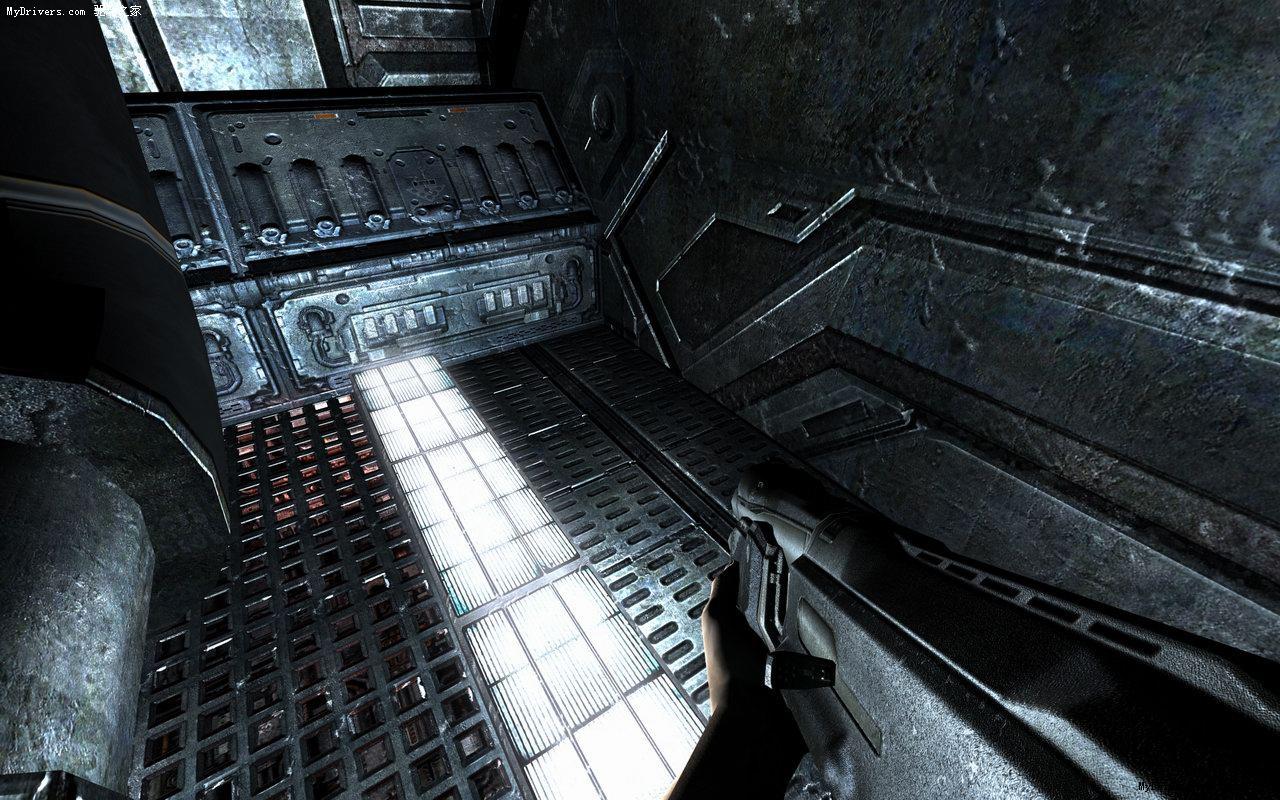 《doom 3》超高分辨率纹理mod精彩图赏