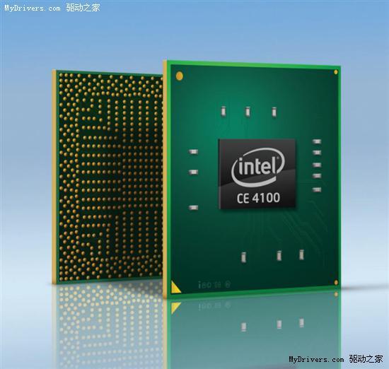 Atom进军互联网电视:Intel发布CE4100 SoC处理器