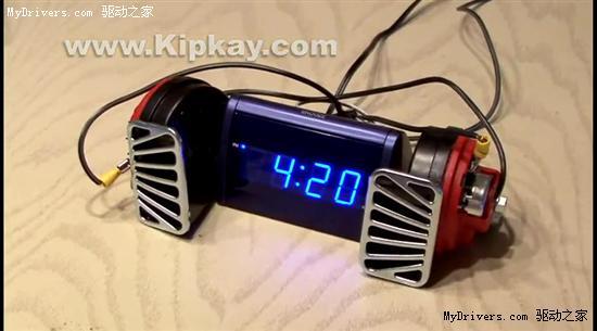 世界最响的闹钟
