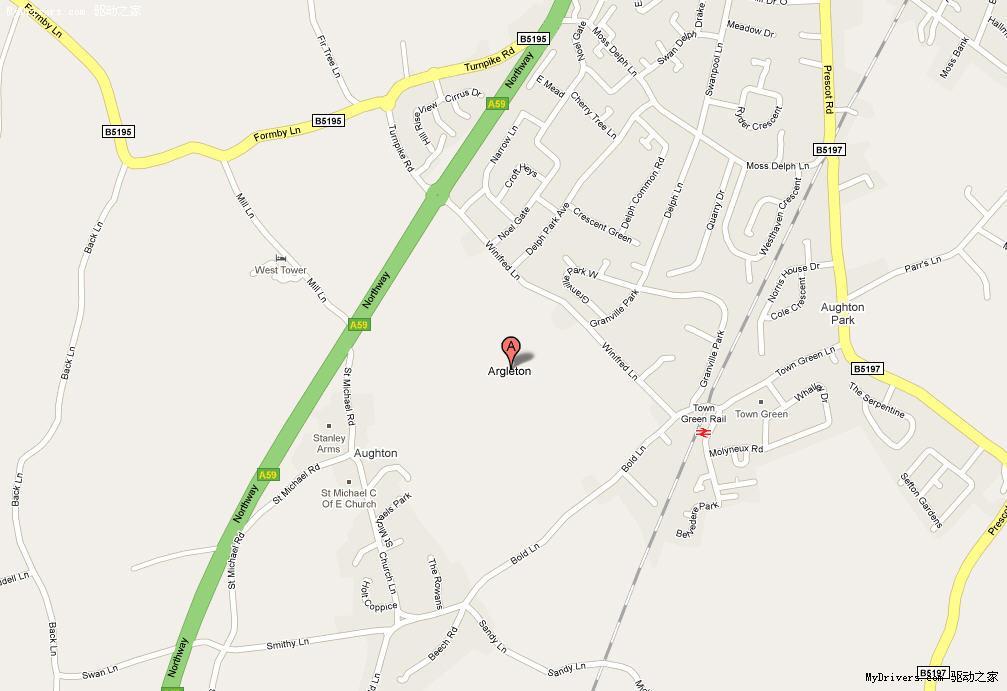 google地图上的幽灵小镇