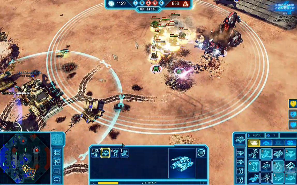命令与征服4 beta版游戏视频