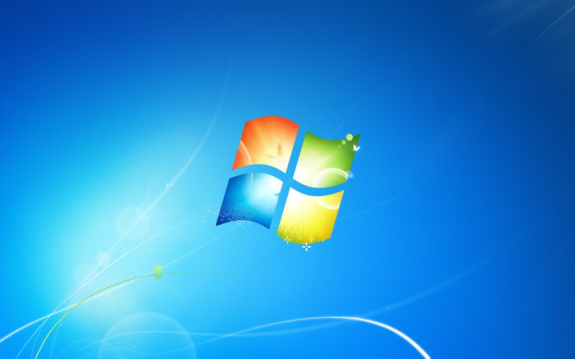 并且以渐进的玻璃嵌入方式融入了windows logo.图片