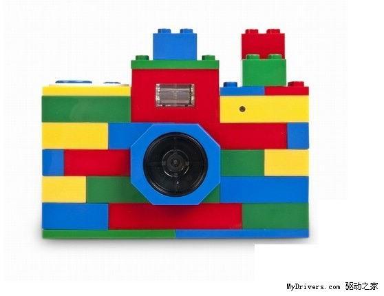 万能乐高积木拼接数码相机