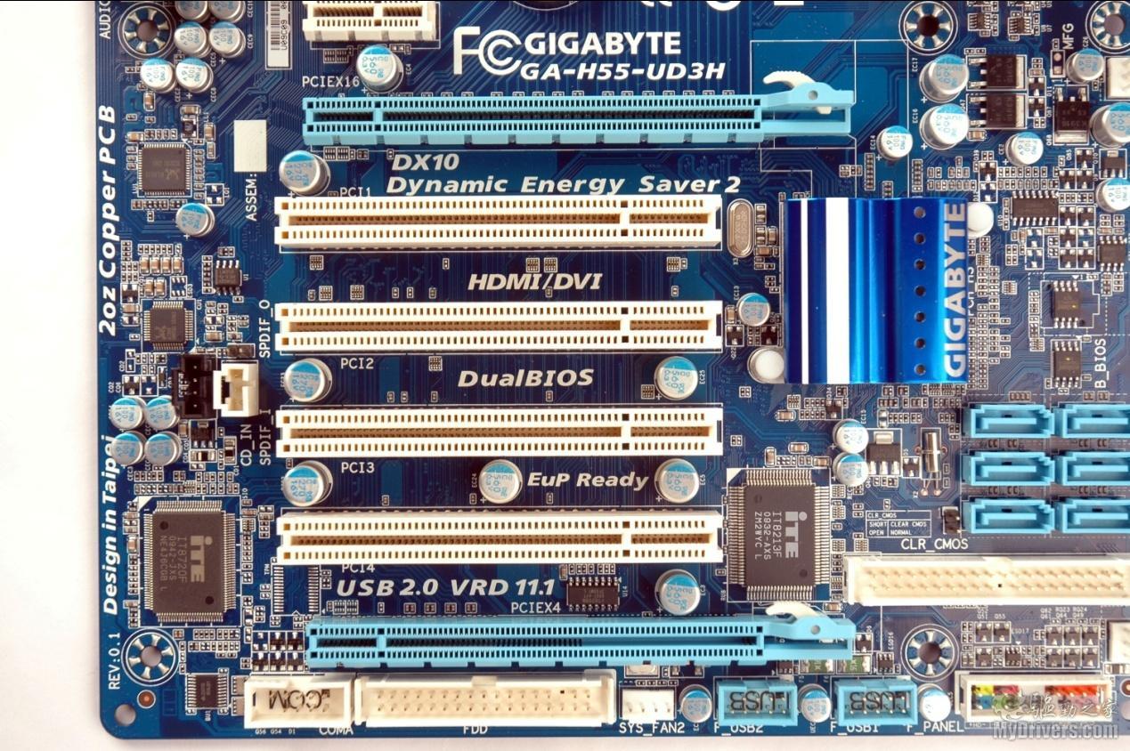 Gigabyte H55-UD3H Drivers Download - driverscape.com