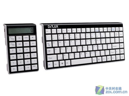 多彩1100计算器键盘首测