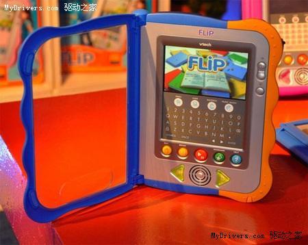 全球首款儿童版电子书FLiP亮相
