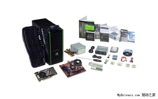 NVIDIA发布GeForce PC DIY装机套件