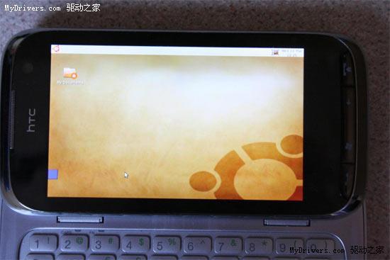 HTC  Touch Pro2成功运行Ubuntu系统 视频展示