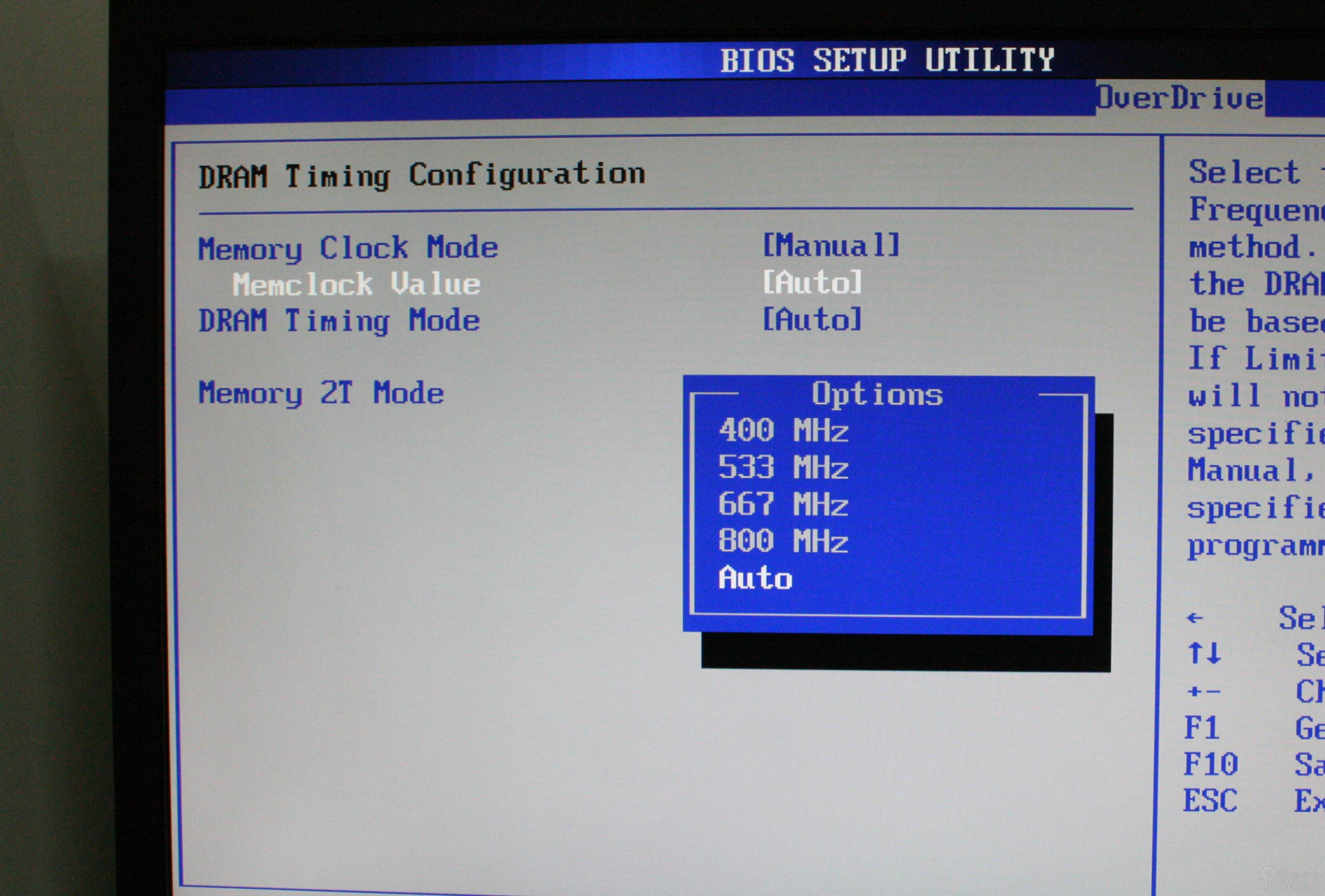 [4.昂达魔剑A890GX主板BIOS简介] 昂达A890GX主板定位全能,无论是游戏竞技还是影音娱乐亦或者是超频平台都有可取之处,其BIOS设计也很出色,并有多种新奇功能设置。  北桥集显设置 主板附带了sideport显卡,不过在BISO依然可以设置共享内存大小,最大可设置512MB内存作为显存使用。  南桥I/O设置 南桥中提供了I/O接口、HD Audio音频等选项设置。  CPU超频设置 针对超频用户,主板BISO中也提供了丰富的选项,可以调节CPU倍频/外频、NB外频/倍频、HT频率、PCI频