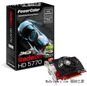 核心轻松上950Mhz 迪兰发布超频版R5770