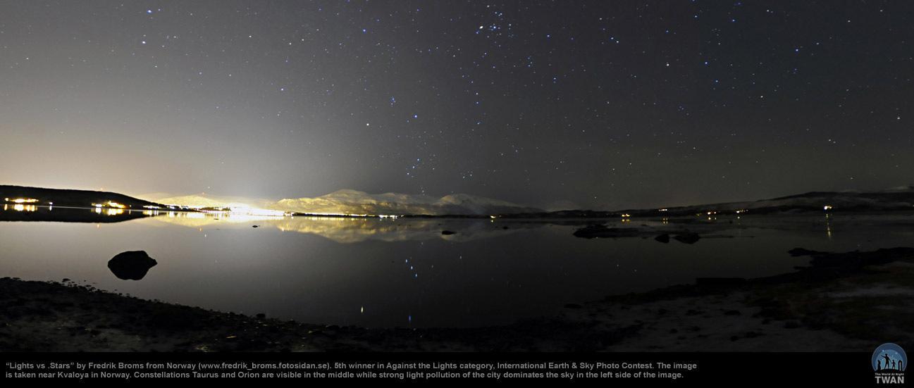 真实夜空星星图片