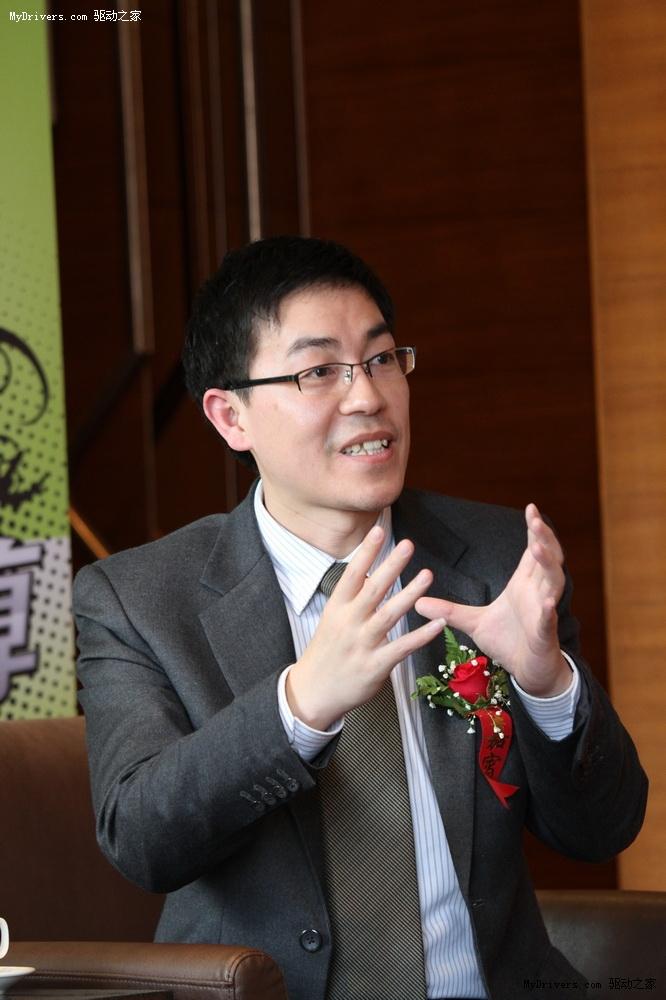 华硕电脑中国业务总部产品总监许明廉先生