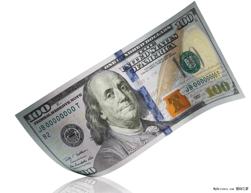 新版100美元纸币加入3d防伪技术
