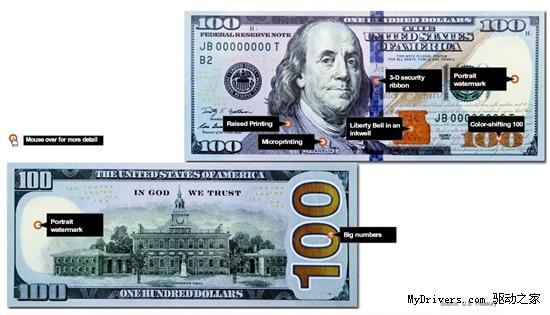 优酷手机_新版100美元纸币加入3D防伪技术-美元,防伪 ——快科技(驱动之家 ...