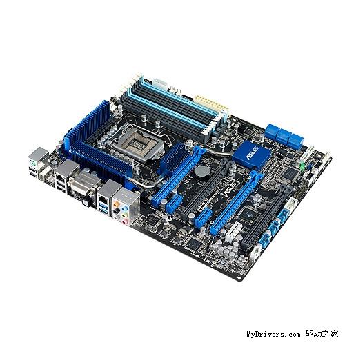 华硕发布首款intel 3450芯片组lga1156工作站主板 华硕 Asus P7f7 E Ws