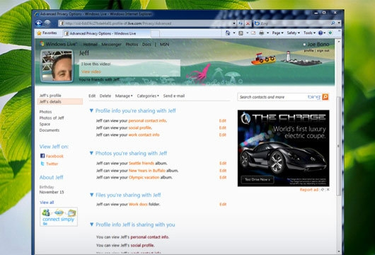 微软首次公开披露下一代MSN