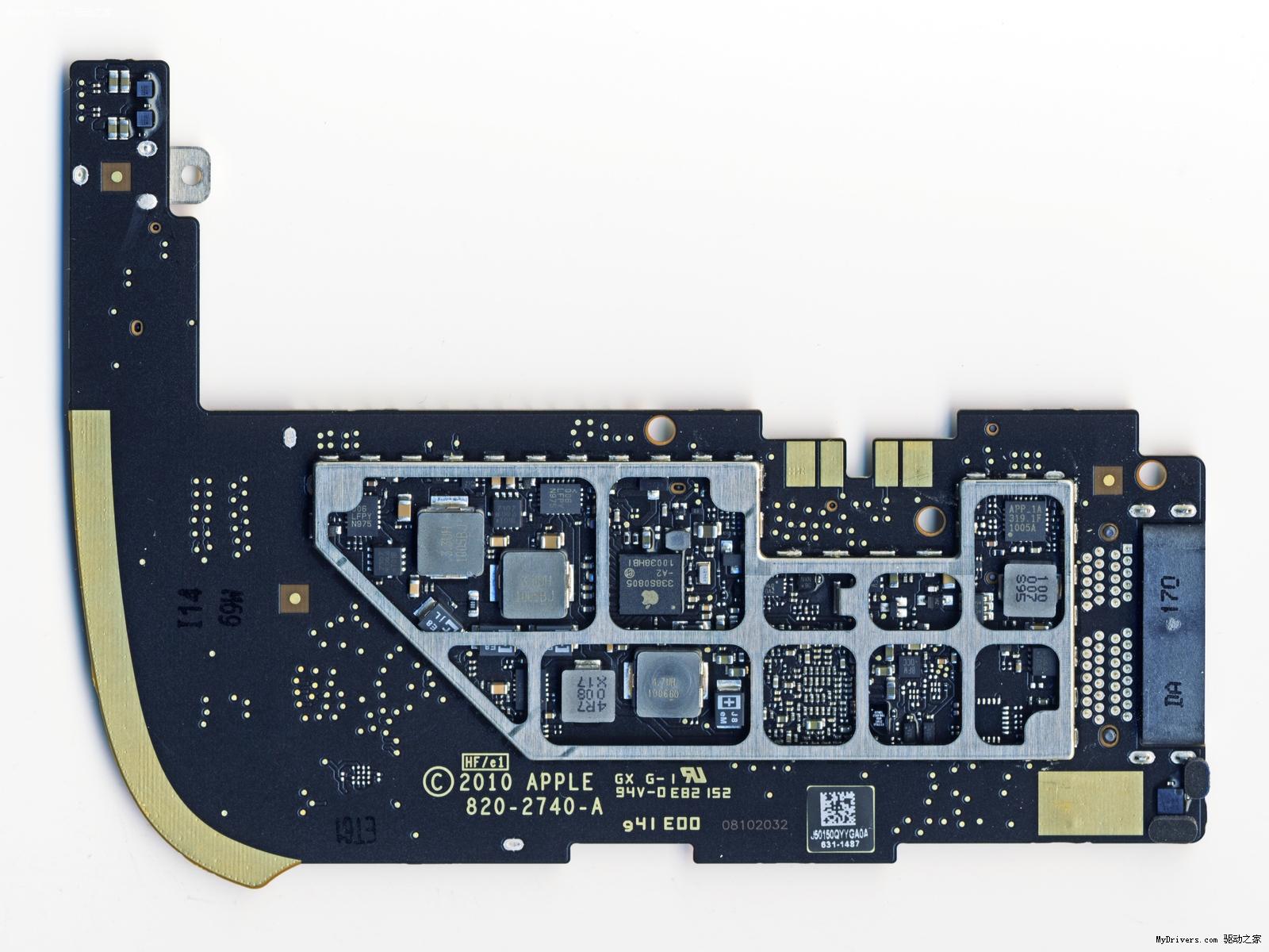 苹果3g版ipad比较拆解分析