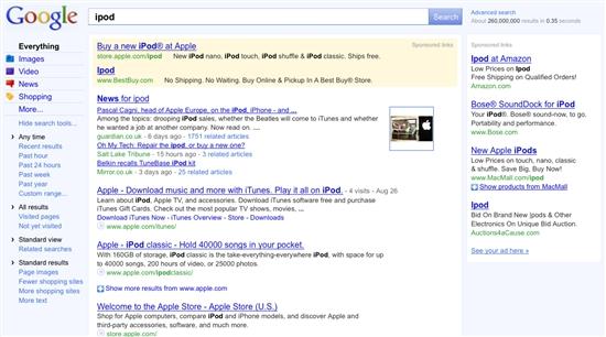 google全新页面设计的幕后故事