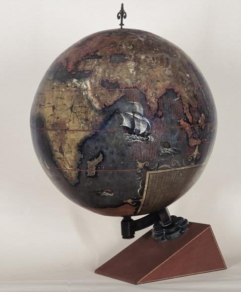 英国展出十张改变世界地图:中国地球仪入选