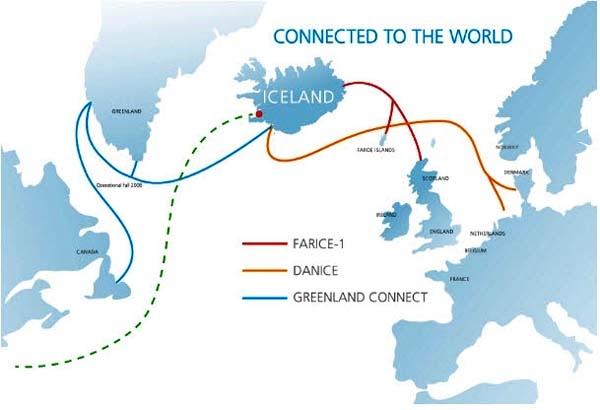 冰岛主要景点地图