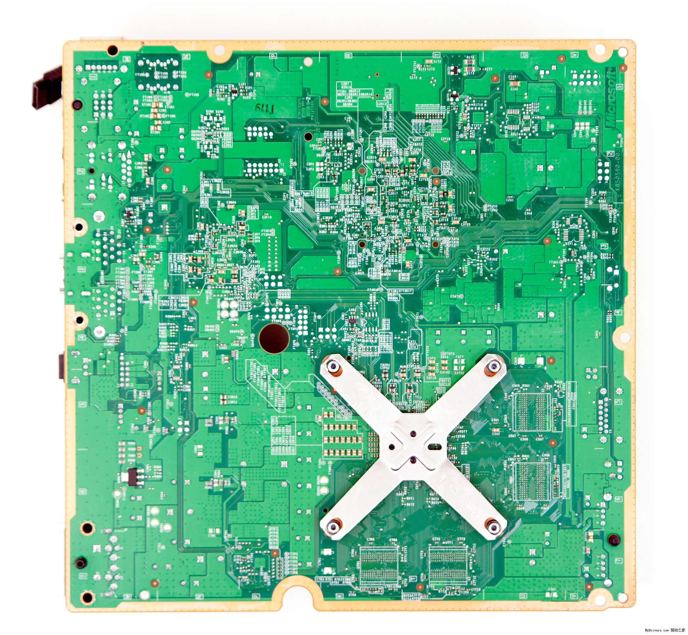 xbox 360新款轻薄版整机 拆解对比超海量图赏 xbox360综合高清图片