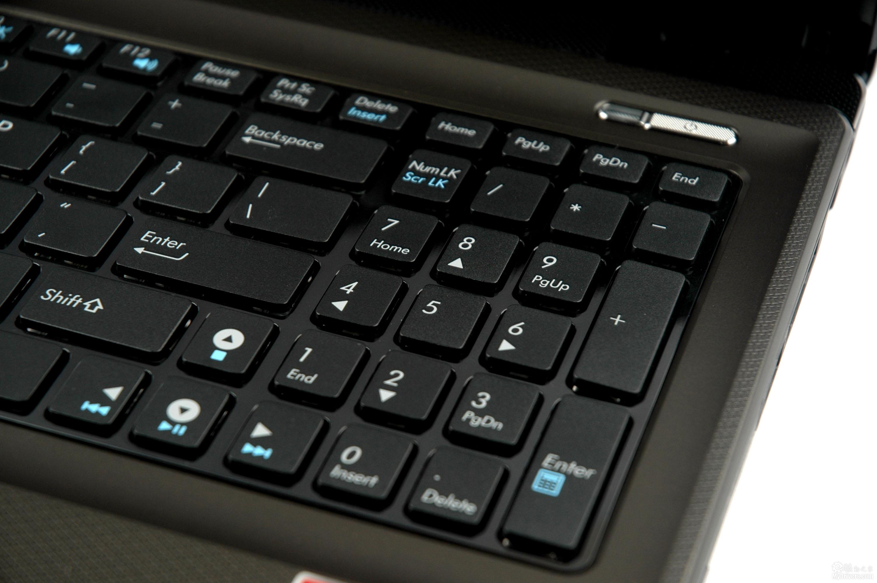 键盘字母变成了数字_华硕笔记本电脑数字键盘切换 数码