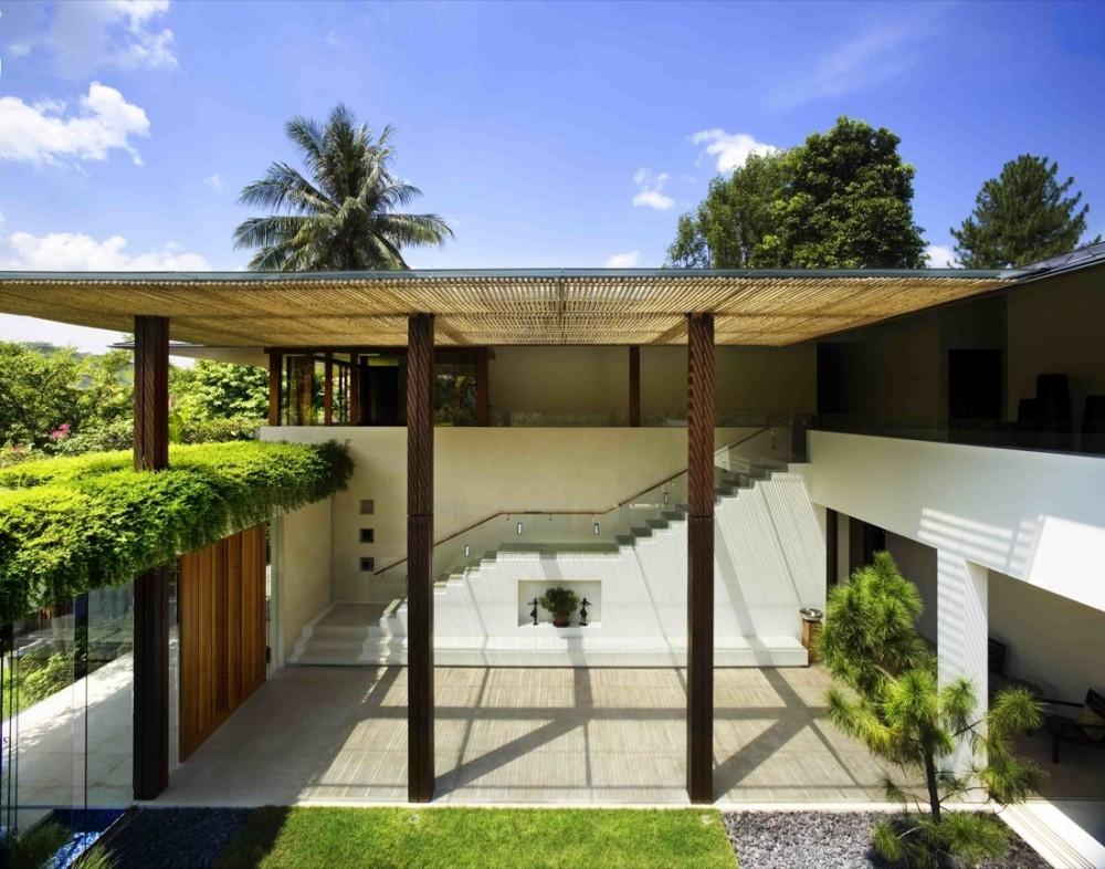 以草为盖水为庐 超级绿色环保式住房设计