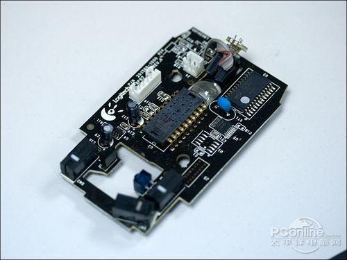 拆解下来的鼠标电路板