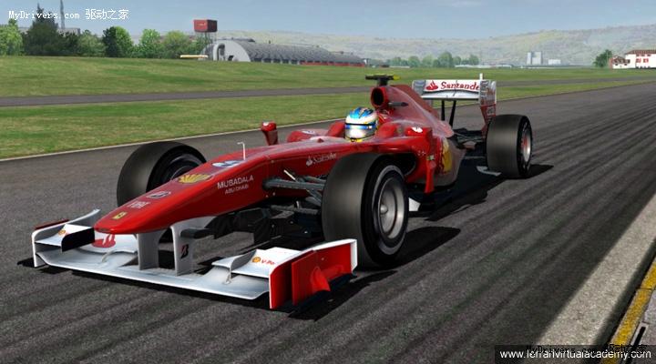 法拉利f1赛车官方模拟器本周发布 法拉利,f1,模拟器,虚拟学院 驱动高清图片