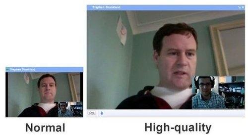 Gmail增强视频聊天功能 支持高清、硬件加速