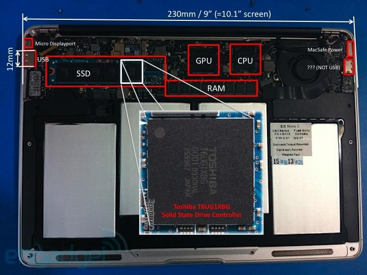模块化固态硬盘 苹果新macbook air曝光