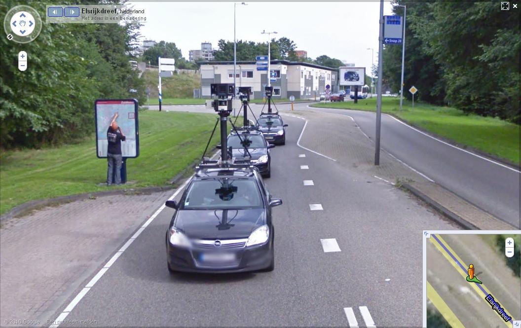google街景拍摄车也会迷路-谷歌,google,google maps