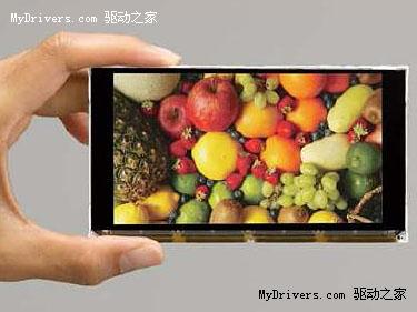 4.8寸1080p 全球最小高清液晶屏问世