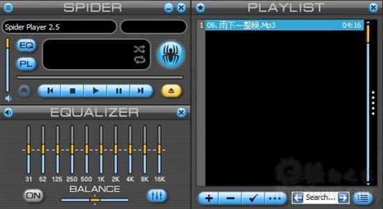 下载:音乐蜘蛛Spider Player 2.5