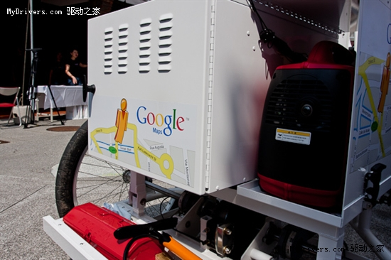 Google街景三轮车德国上路