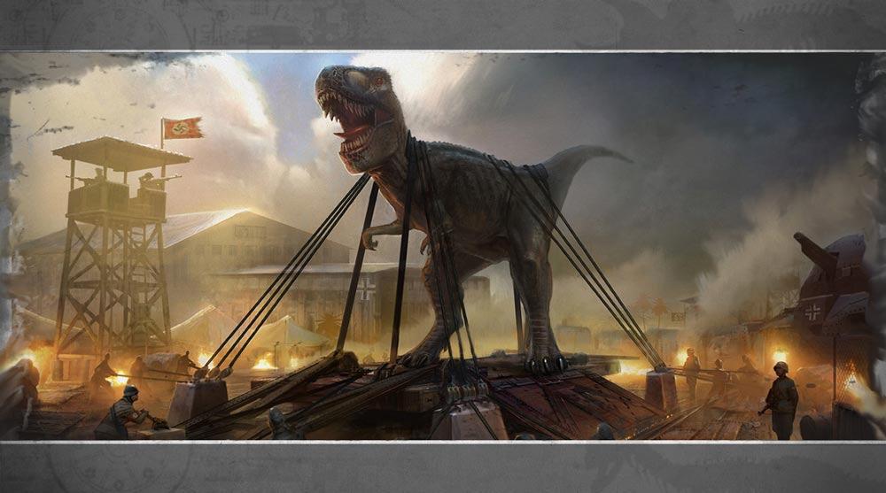 降临学园都市_indie新作《恐龙降临日》