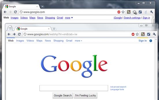 Google开始部署新搜索界面