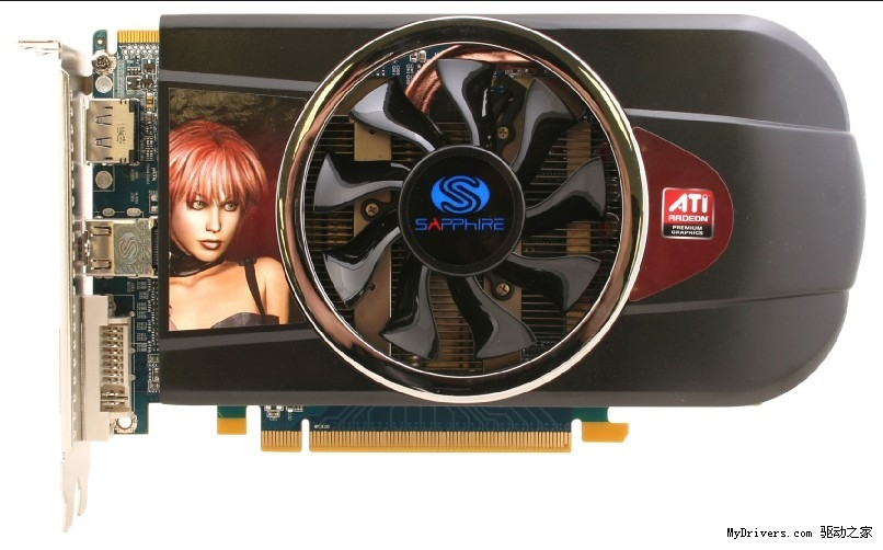 在目前的千元以下显卡市场上,NV的GTS450和AMD的HD5770显卡打得火热,不过与GTS450相比,HD5770凭借着DirectX 11和强劲性能优势得到了不少玩家的青睐。今天笔者得到消息,蓝宝的 HD5770 512M黄金版降价150元,目前报价749元,让GTS450H毫无招架之力,一起来看下。  蓝宝HD5770 512MB黄金版采用蓝宝独家非公版优化PCB设计,电气性能优异。内部基于采用40nm工艺制程的Juniper XT显示核心,拥有800个流处理器单元,完美支持DirectX 11以