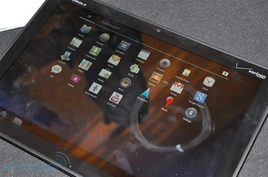 正宗Android平板 摩托罗拉Xoom试玩图赏