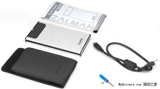 Zalman新移动硬盘盒可做虚拟光驱