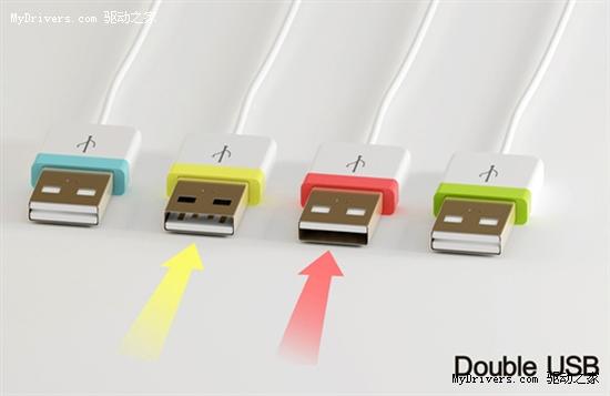 绝妙创意:USB接口变身