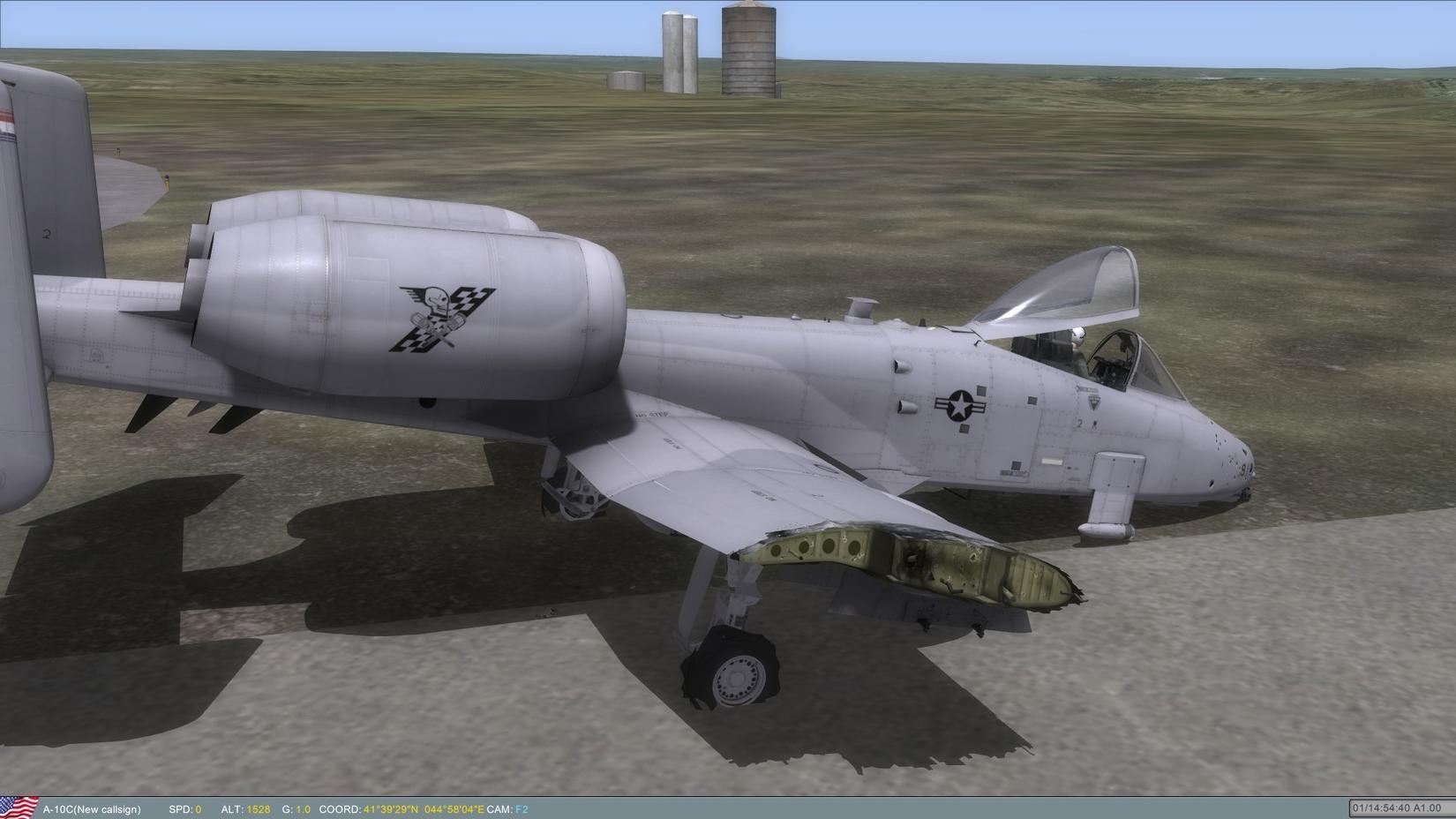 《dcs:a-10c疣猪》图片/视频集