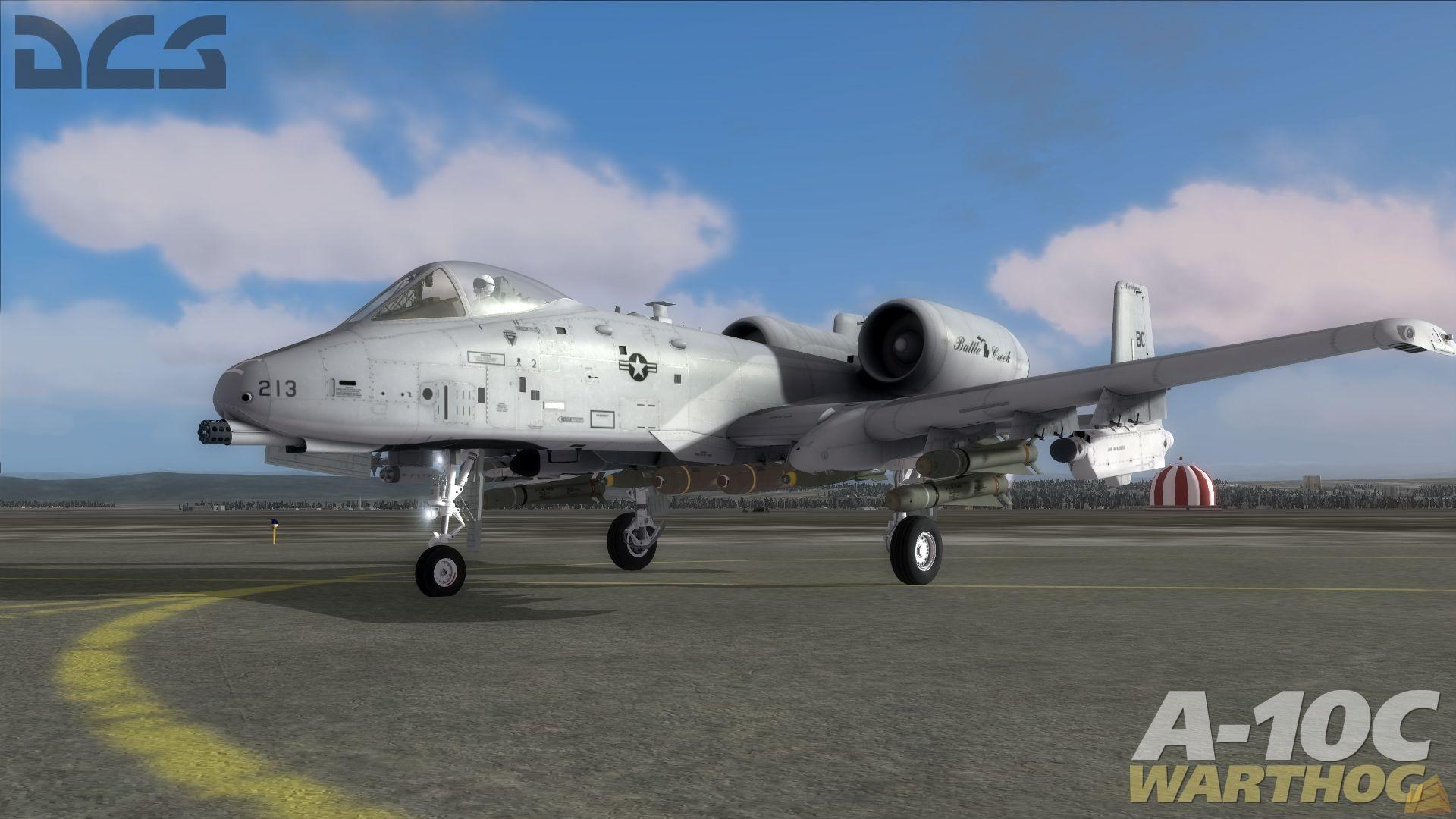 《DCS:A-10C疣猪》正式发布,请大家自寻亮点