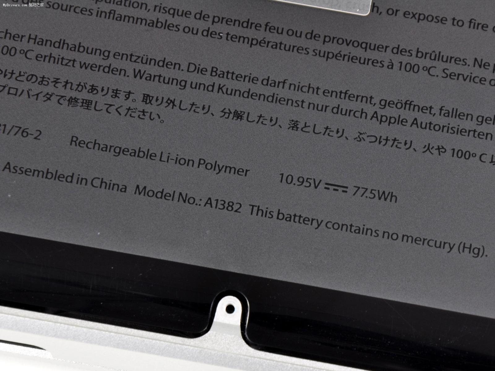苹果/除升级Sandy Bridge外,新机的内存也统一升级到DDR3 1333...