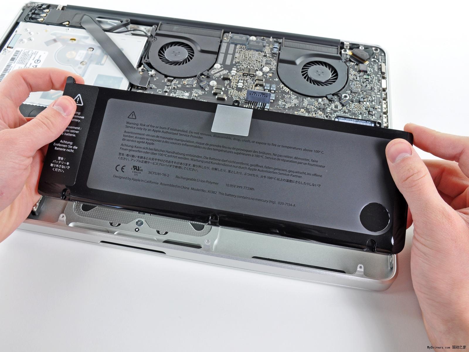 苹果新macbook pro拆解