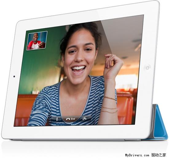 facetime,支持ipad之间以及同iphone,mac视频通话.